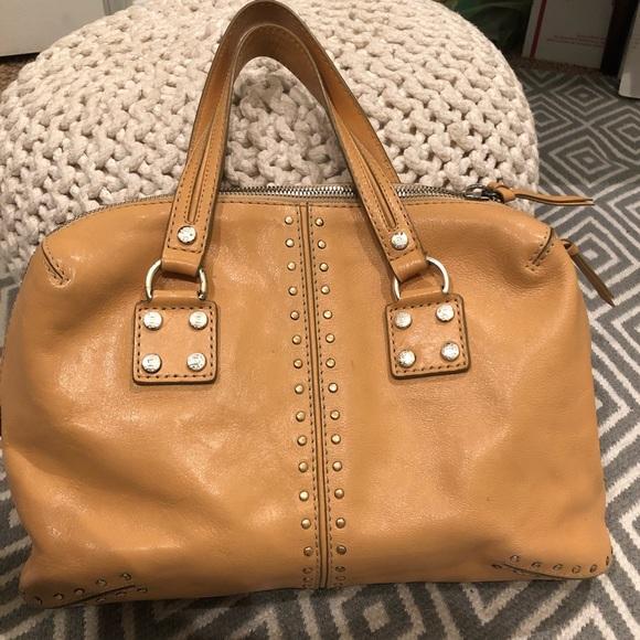 d99ea50eae72 Vintage Michael Kors studded leather handbag. M_5c3455f2de6f62d8af02124b